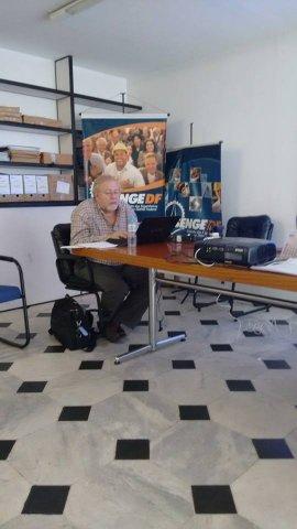 Dia 27/10: Representante do SINESP no Conselho Nacional Educação, Sr. João.