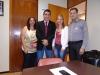 Dia 29/10: Negociação com o Legislativo e Executivo, Entrega da Carta ao Suplemente do Deputado Pedro Uczai, Sr. Francisco de Assis, Deputado Federal.