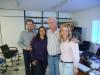 Representantes de Santa Catarina com o Sr. Edison Guilherme Haubert, Presidente do Instituto MOSAP (Movimento dos Servidores Aposentados e Pensionistas).