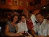 Presidente Sra. Diléia com a Famíla do Sr. Elói Zambon, Presidente da AAESC.