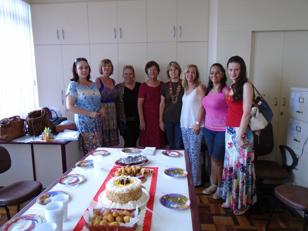 Dra. Daniela Coral, Diretoria da AOESC, Parceiros e Convidados.