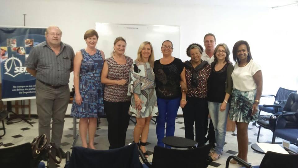Grupo participante das atividades do Fórum no período da manhã.