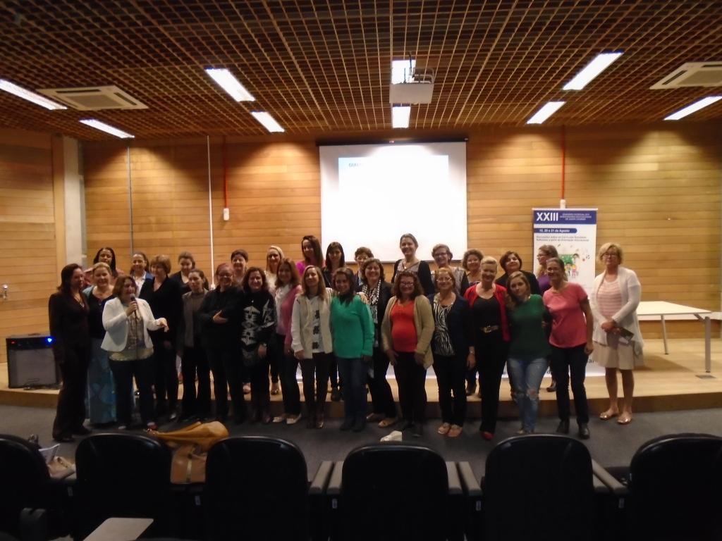 Participantes do XXIII Seminário da AOESC.