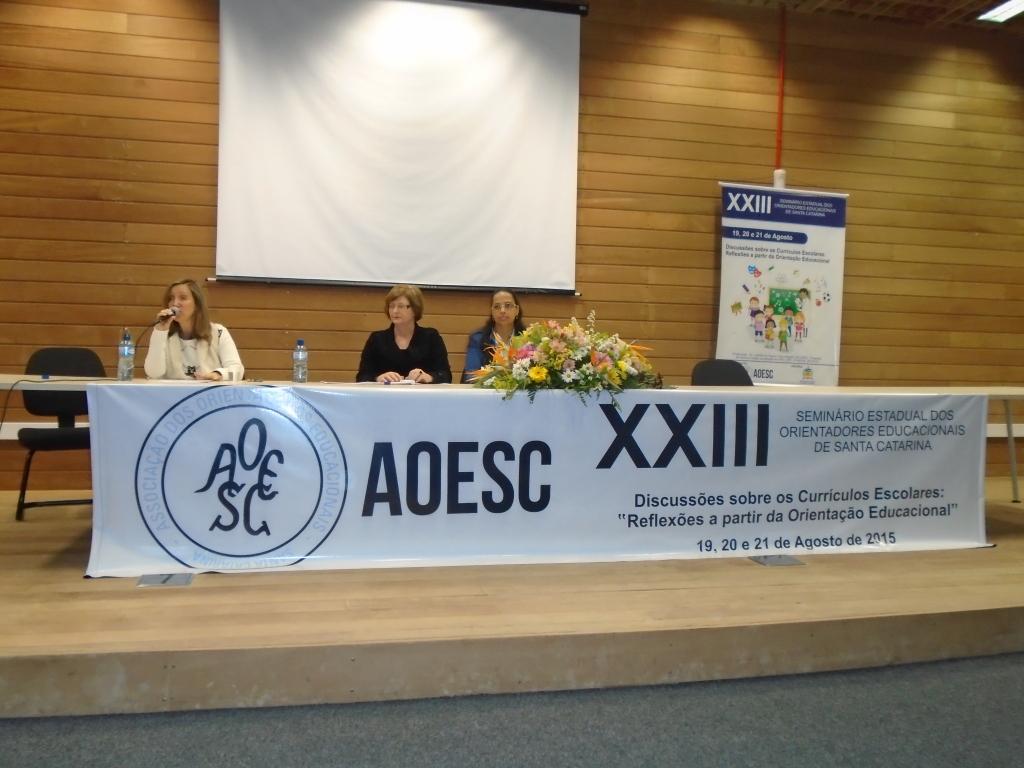 Assembléia Geral da AOESC.