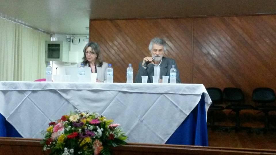 """Conferência: """"Políticas educacionais na atualidade e implicações na organização do trabalho e escola"""" com Prof. Dr. Luiz Carlos de Freitas (UNICAMP) mediada pela Supervisora Escolar Rosimere Jorje da Silva (ASESC)."""