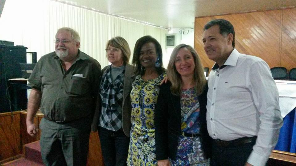 Autoridades presentes na Solenidade de Abertura, do evento.