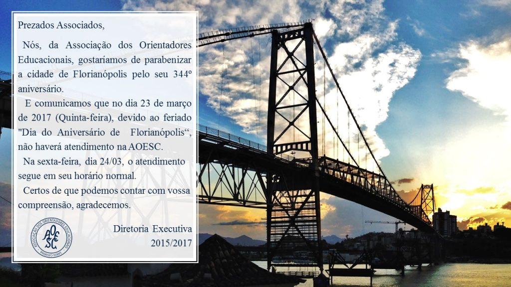 Aniversario de Florianopolis 23.03.17