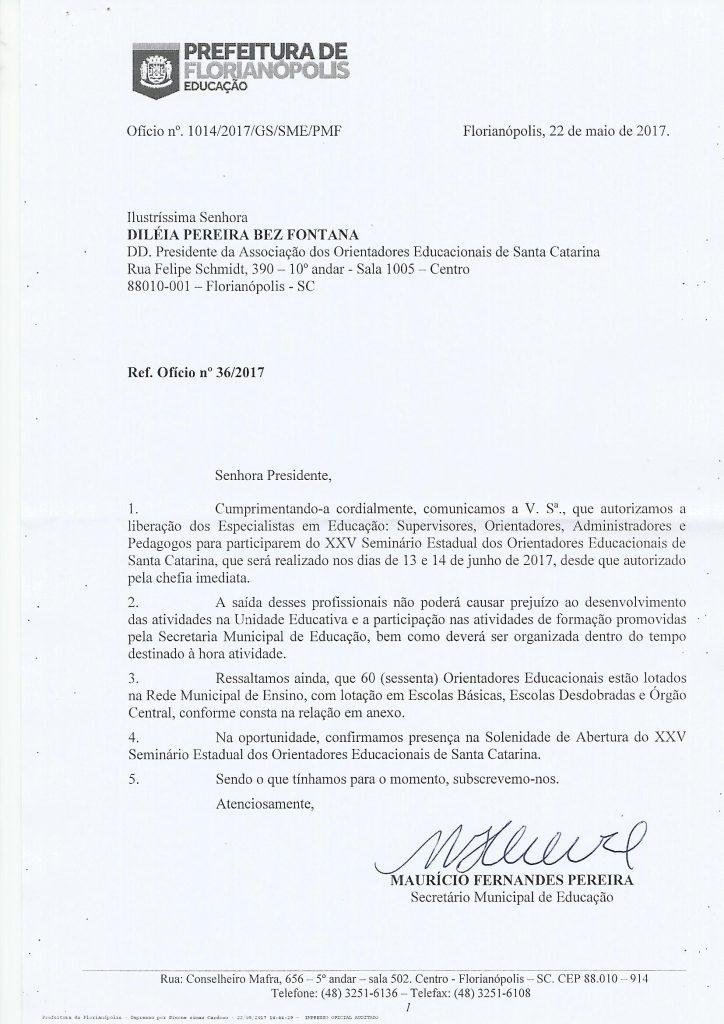 Oficio Secretaria Municipal 2017 p.1