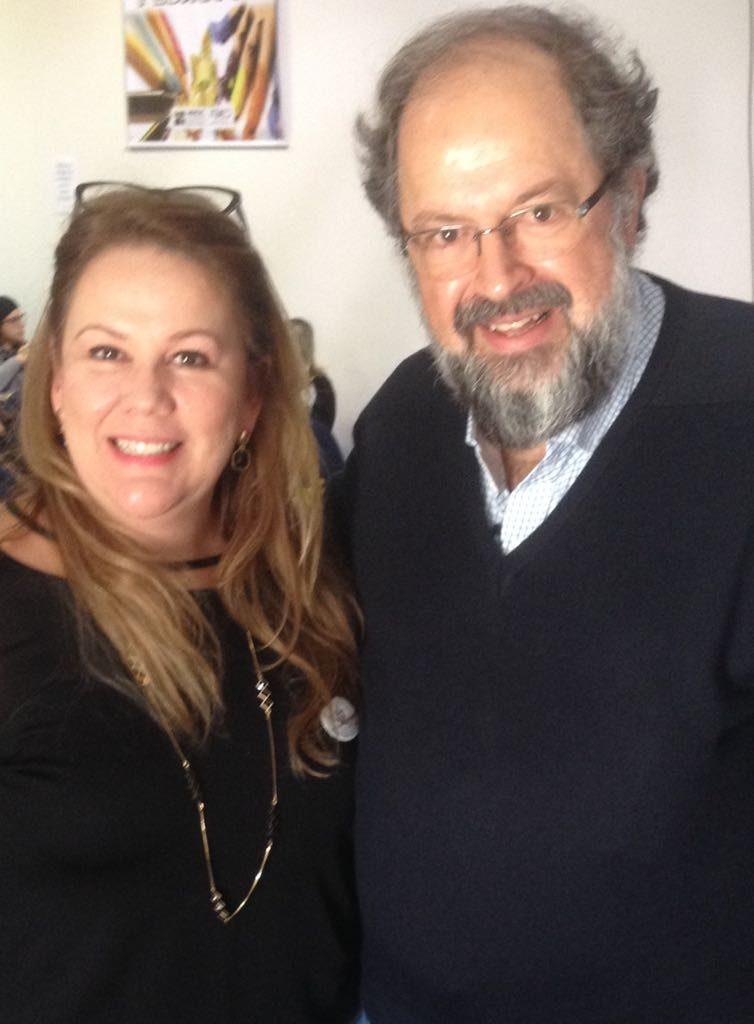 Palestrante: Prof. Dr. Celso Vasconcelos e Vice-presidente da AOESC, Graziela Raupp Pereira.
