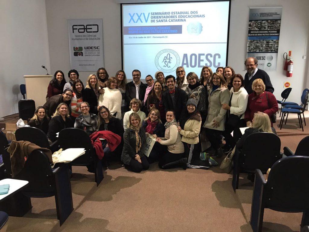 Encerramento do Primeiro dia do XXV Seminário da AOESC.