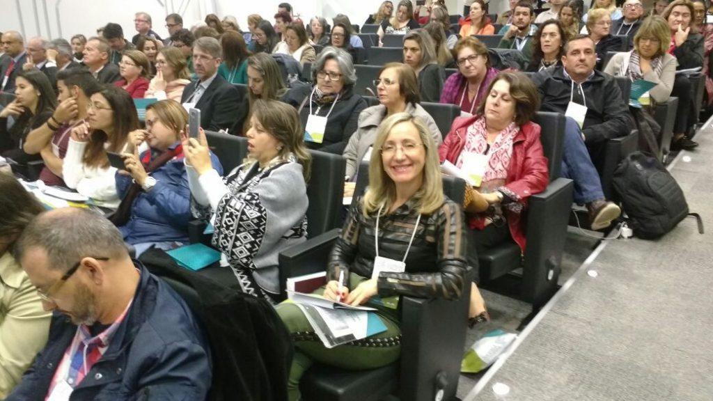 Audiência pública sobre a Base Nacional Comum Curricular, na Federação das Indústrias do Estado de Santa Catarina - FIESC, no Itacurubi.