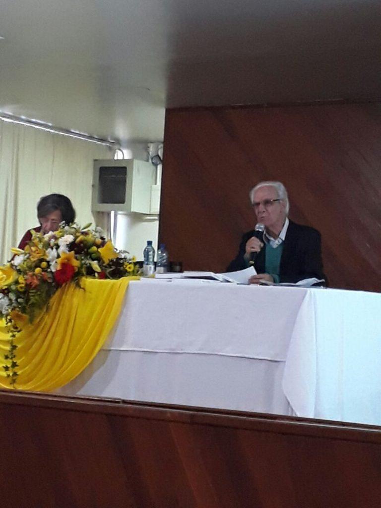 Palestra de Prof. Dr Miguel Arroyo da UFMG