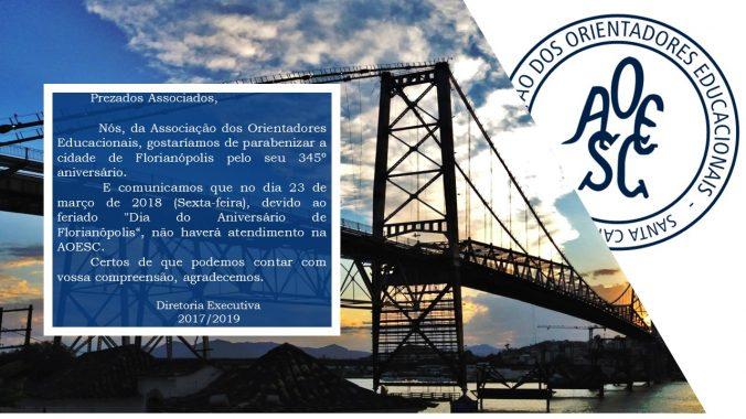 Aniversario de Florianopolis 23.03.18
