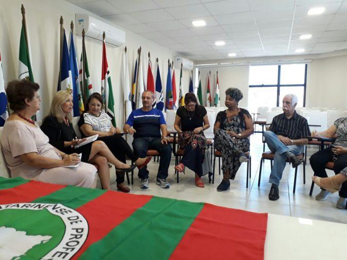 Diléia Pereira Bez Fontana, Presidente da AOESC e Membros da Diretoria da ACP