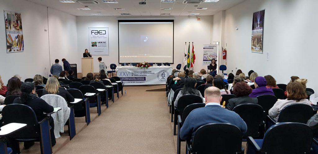 Público do 1º dia do XXVI Seminário da AOESC.