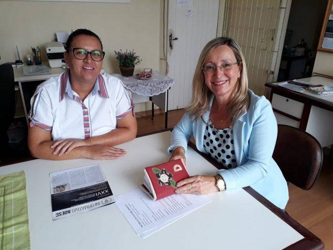 Entrevista com nossa primeira candidata a vaga de Estágio da AOESC. Aluna Michelle de Oliveira Borgett da UDESC/FAED.