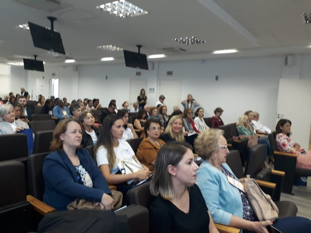 público da III Conferência Municipal do Direitos da Pessoa Idosa de Florianópolis