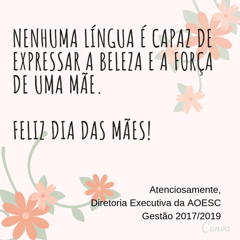 Nenhuma língua é capaz de expressar a beleza e a força de uma mãe. Feliz Dia das Mães! (1)