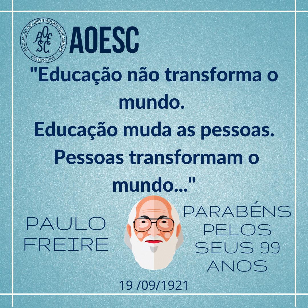 Paulo Freire e AOESC